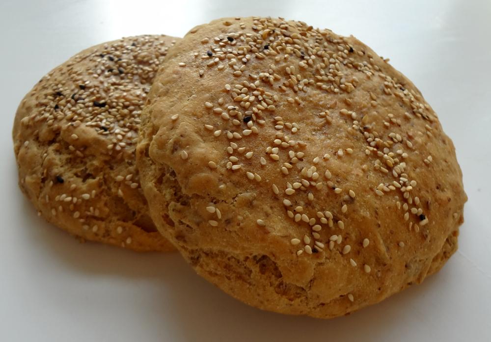 Grove boller til burger eller sandwich