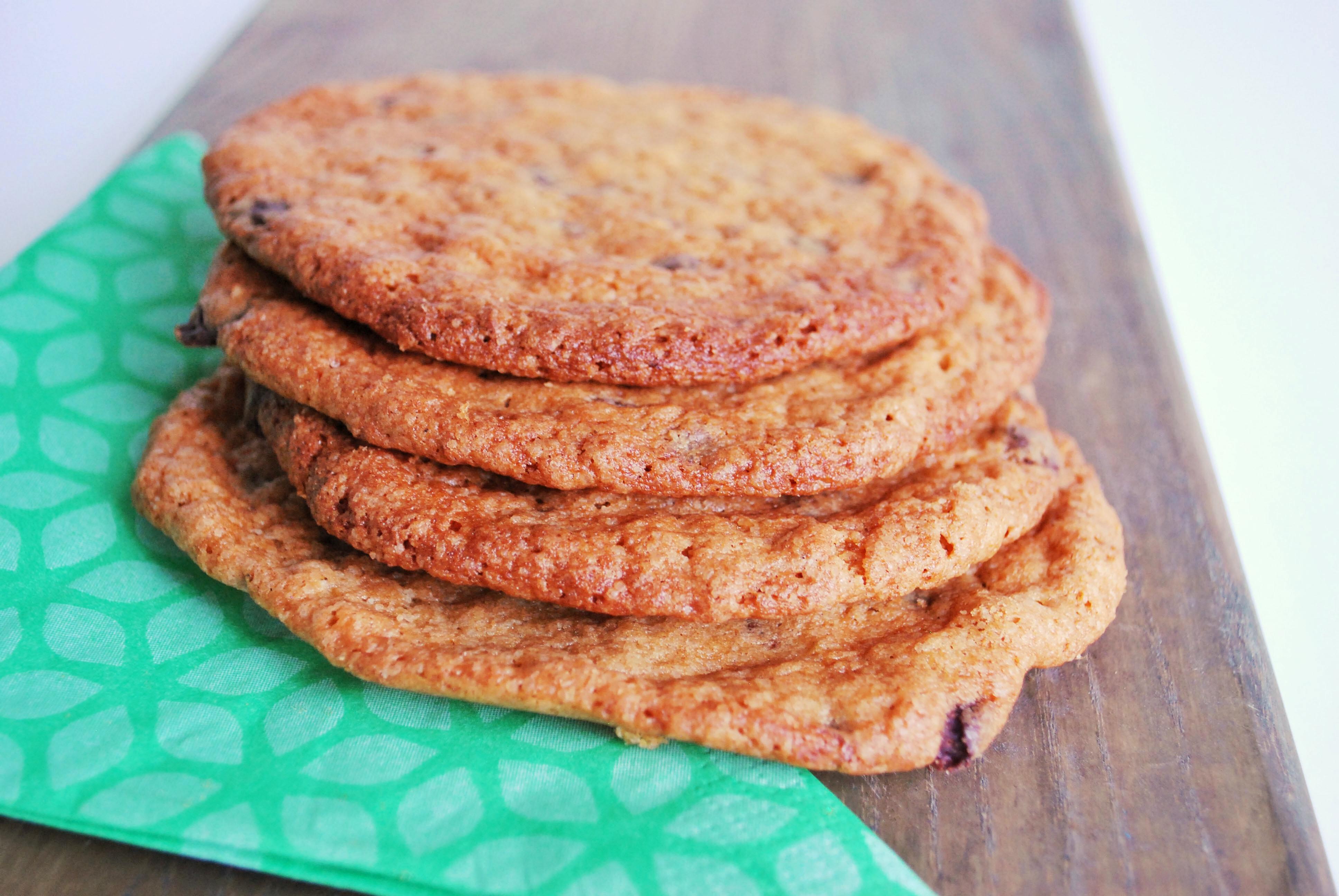 Veganske glutenfrie chokolade cookies