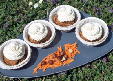 Gulerods muffins