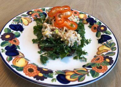 Vegansk smørrebrød – Tunah salat